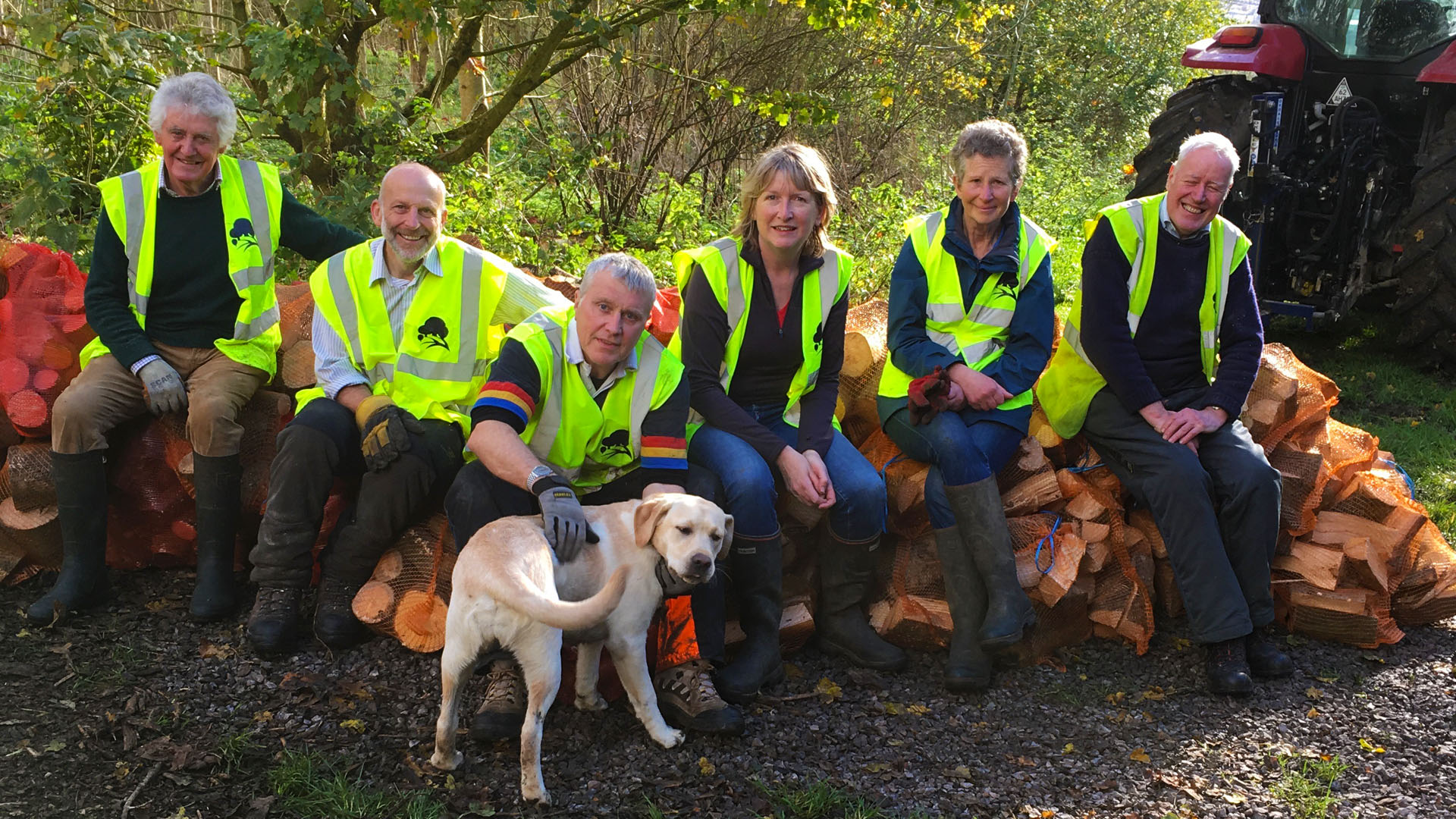 Volunteers of Primroe HIll Woodland